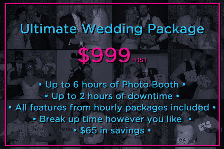 wedding package picmeup website
