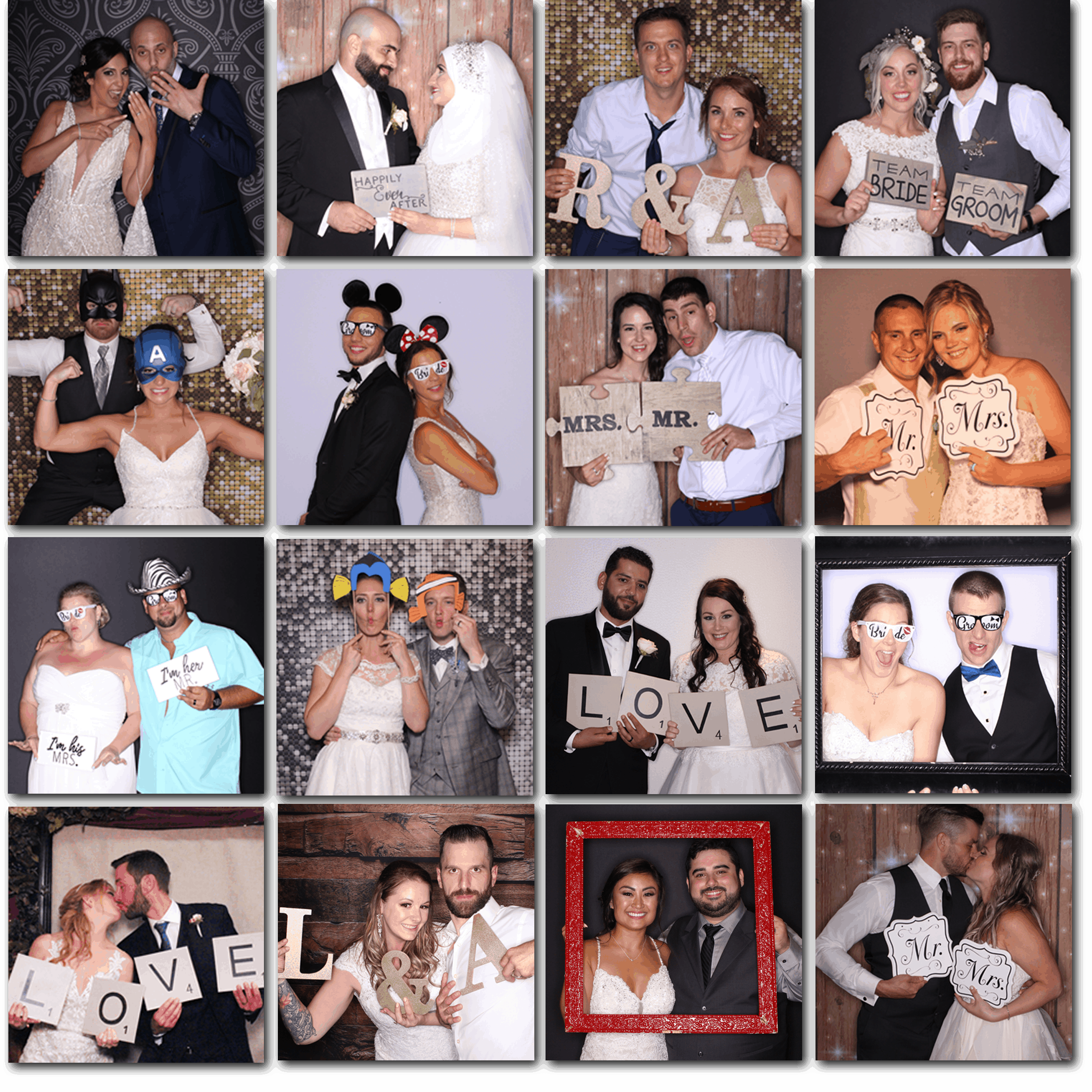 2Wedding Gallery - squares